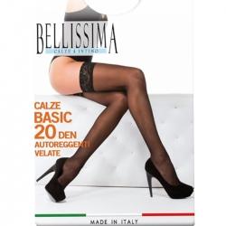 CALZA AUTOREGGENTE BASIC 20 - Bellissima